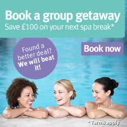 Save £100 on your next break